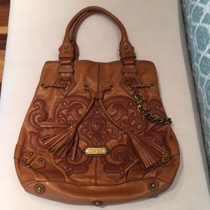 LOCKHEART one of a kind leather bag